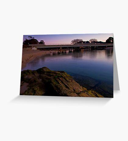Cam River Bridge Greeting Card