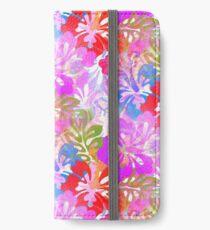 Hawaiian Hibiscus Dreams iPhone Flip-Case/Hülle/Klebefolie
