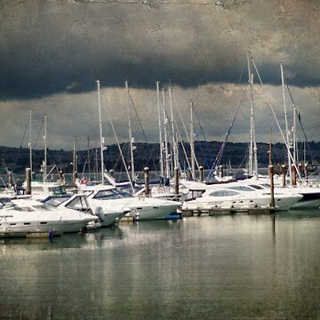 Storm Clouds over Brixham by CatherineV