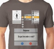 Sword Art Online Menu Unisex T-Shirt