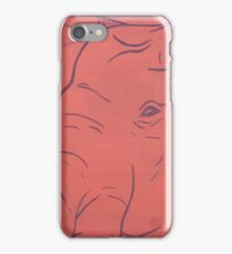 Simplistic Elephant Painting iPhone Case/Skin