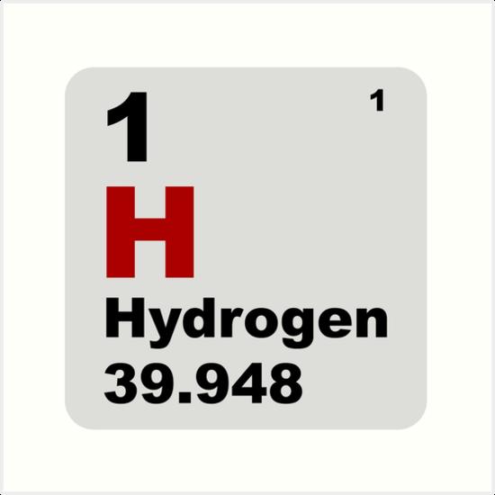 Lminas artsticas tabla peridica de hidrgeno de elementos de tabla peridica de hidrgeno de elementos de walterericsy urtaz Images