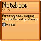 Stardew Valley notebook by JMbiscuitmoney