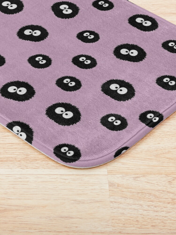 Alternate view of Totoro - Soot Sprites Pattern Bath Mat