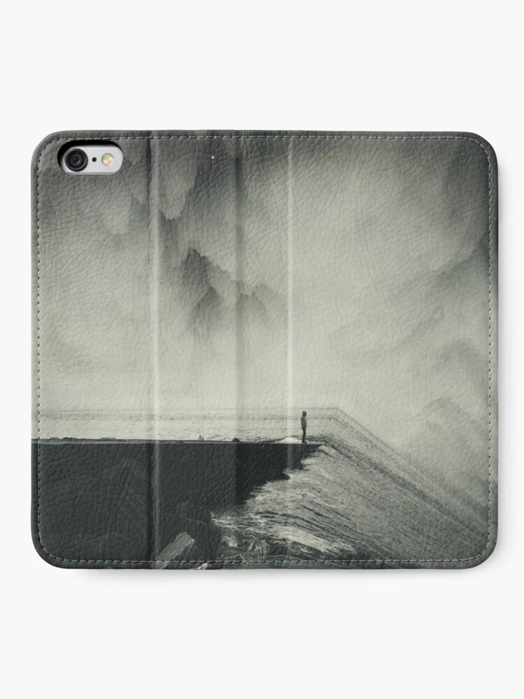 Alternate view of VertigOcean - surreal seascape iPhone Wallet