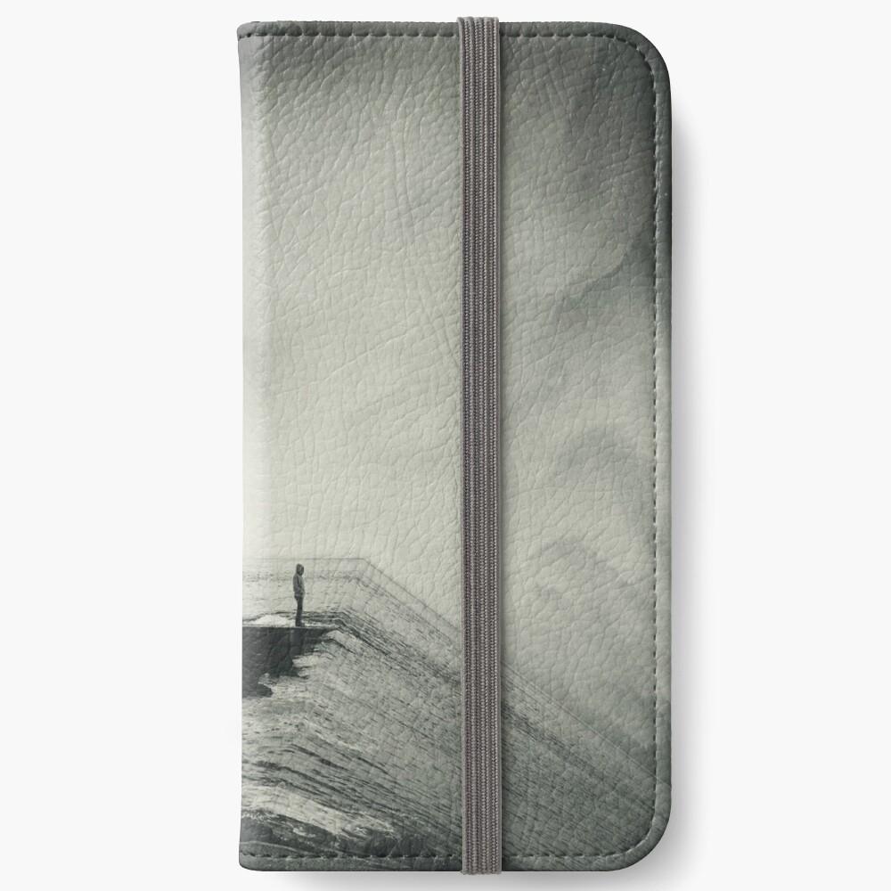 VertigOcean - surreal seascape iPhone Wallet