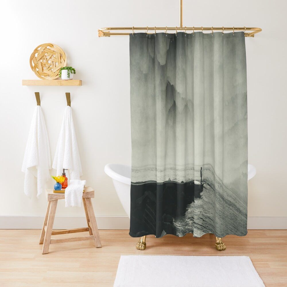 VertigOcean - surreal seascape Shower Curtain