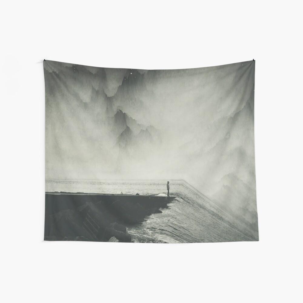 VertigOcean - surreal seascape Wall Tapestry
