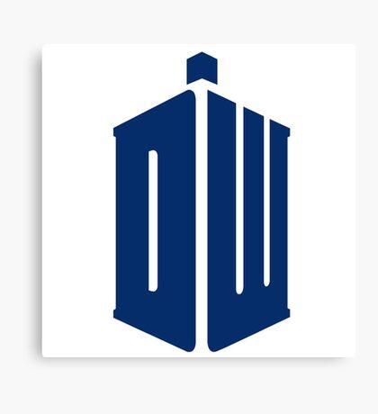 Doctor Who: Logo Model 1 Canvas Print