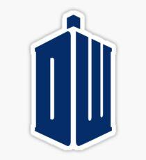 Doctor Who: Logo Model 1 Sticker