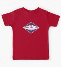 Fort Collins Colorado Kids T-Shirt