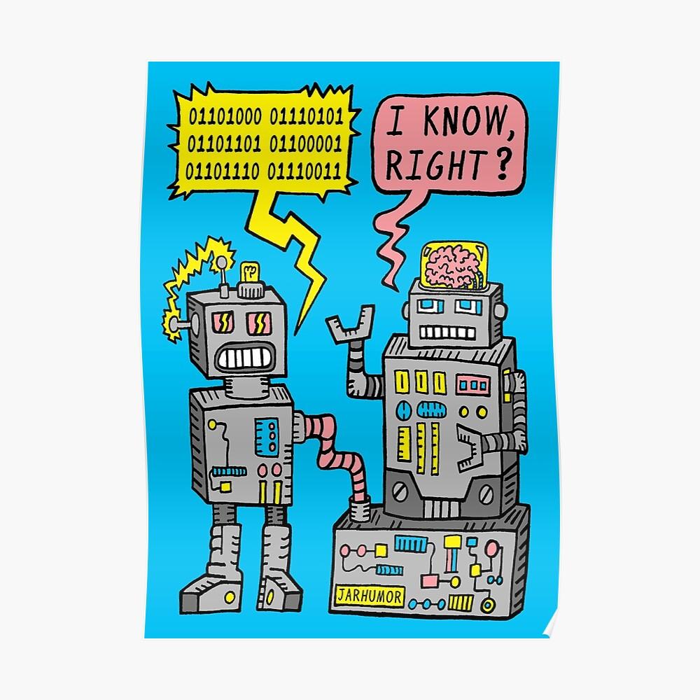 Robotergespräch Poster