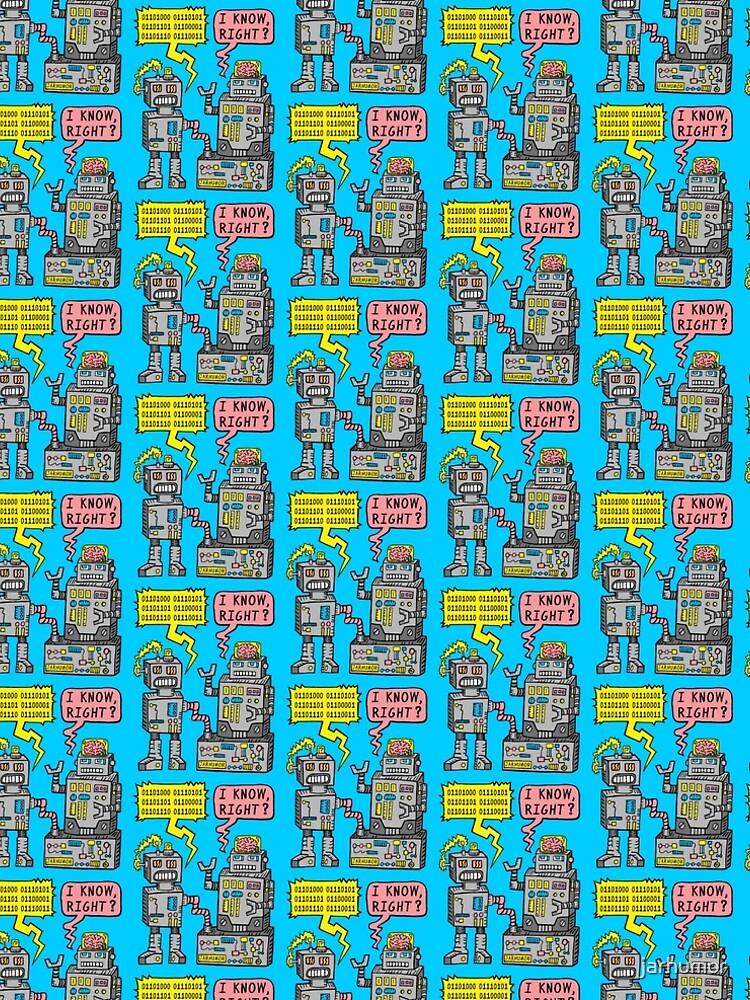 Robotergespräch von jarhumor