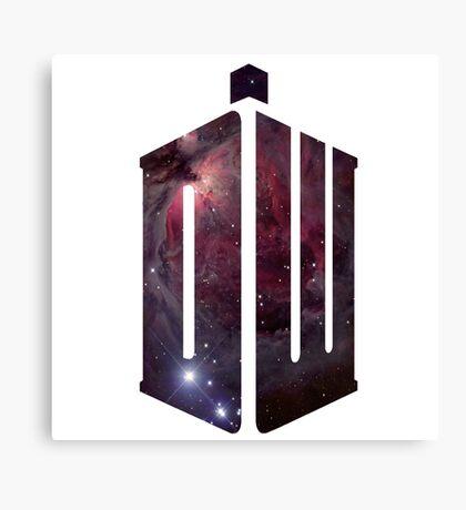 Doctor Who: Logo Model 2 Canvas Print