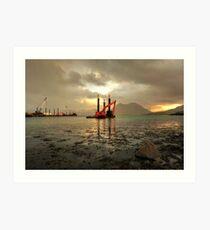 Raasay Red Digger Art Print