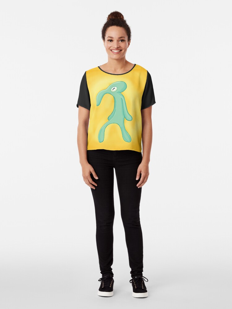 Alternate view of Bold and Brash Chiffon Top