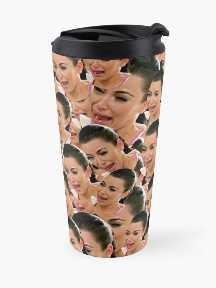 Alternate view of Crying Kim Kardashian Travel Mug