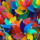 Pinwheels/toy windmills  by friendlydragon