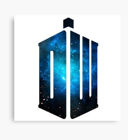 Doctor Who: Logo Model 3 Canvas Print