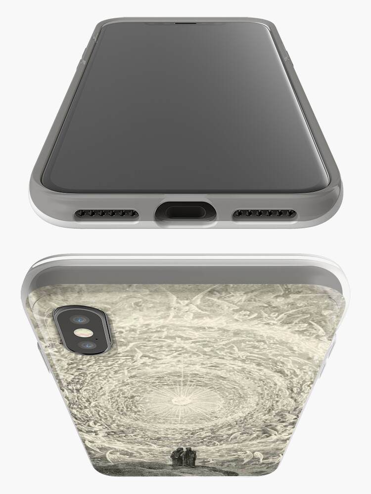 Alternate view of Dante, Heaven, Heavenly, The Divine Comedy, Gustave Doré, Highest, Heaven iPhone Cases & Covers