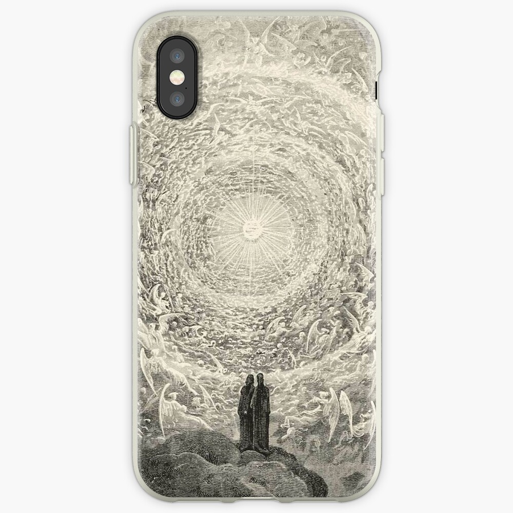 Dante, Heaven, Heavenly, The Divine Comedy, Gustave Doré, Highest, Heaven iPhone Cases & Covers