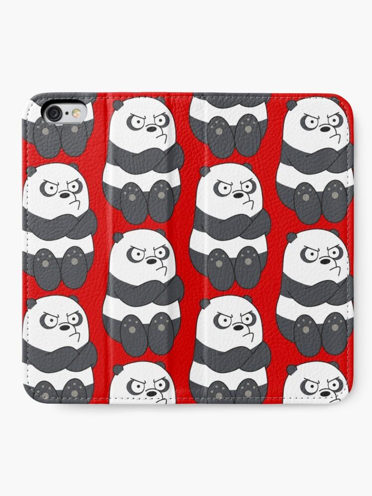 Alternate view of Panda iPhone Wallet