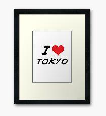 I love tokyo Framed Print