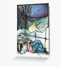 Homelessness Greeting Card