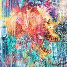 Splatter Skull by barrettbiggers