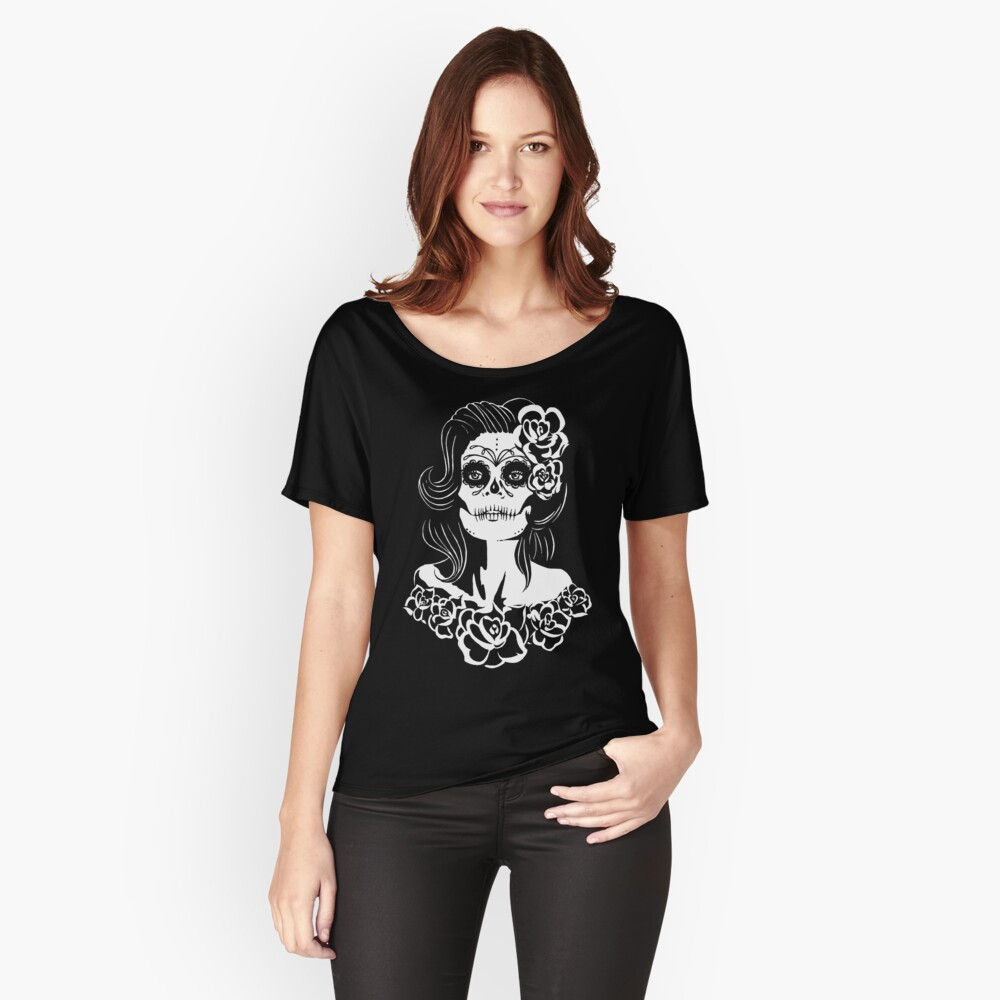 Muertos Tee Women's Relaxed Fit T-Shirt Front