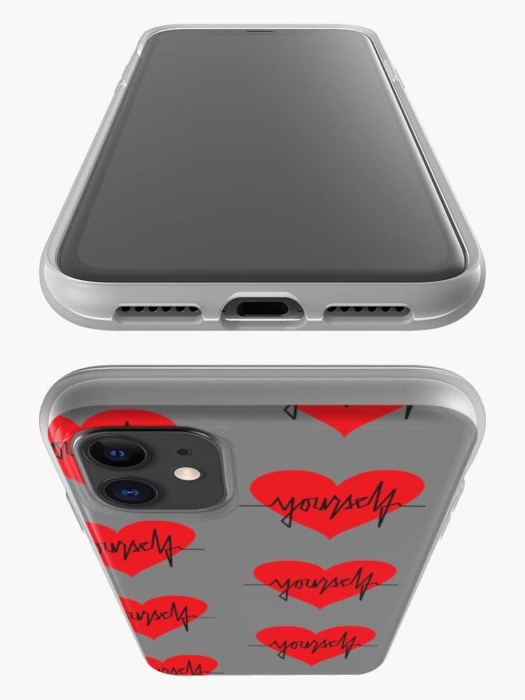 Alternate view of love yourself - zachary martin iPhone Case & Cover