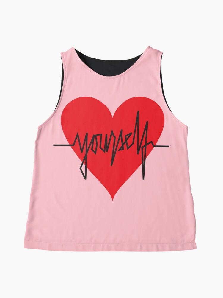 Alternate view of love yourself - zachary martin Sleeveless Top