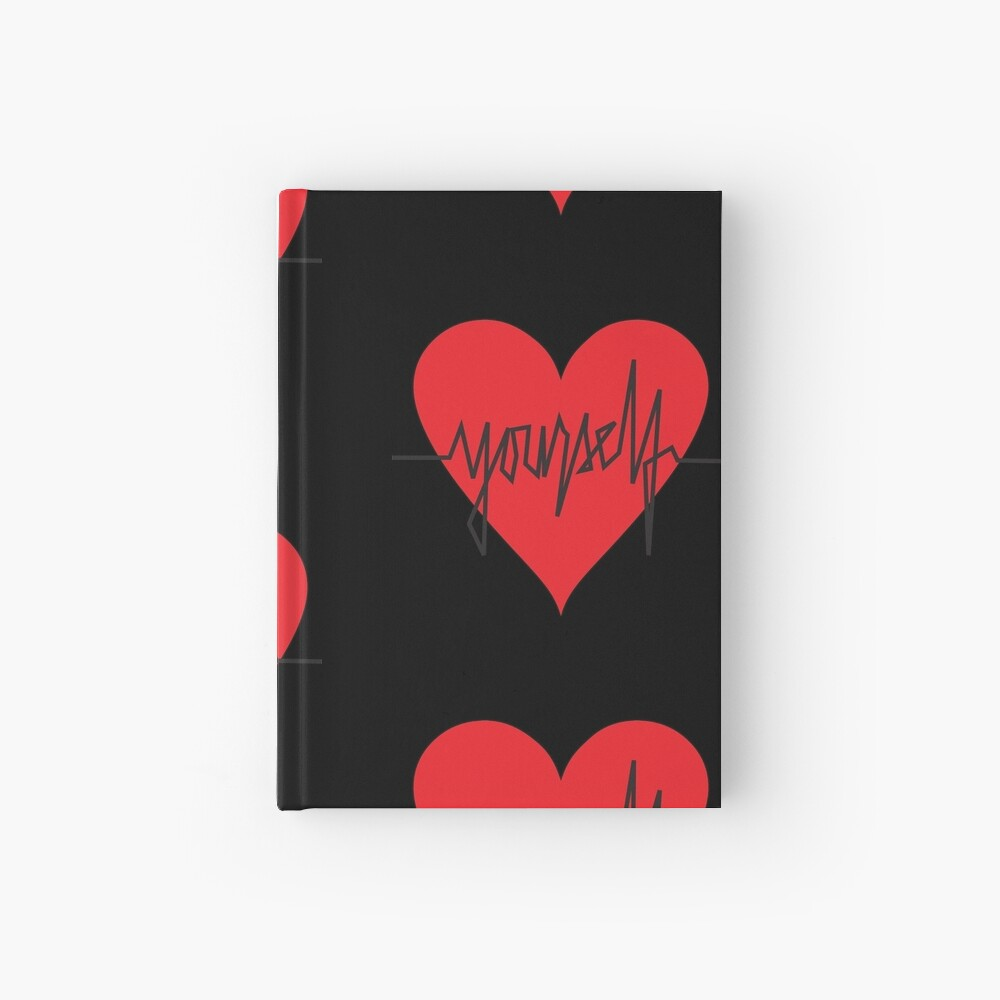 love yourself - zachary martin Hardcover Journal
