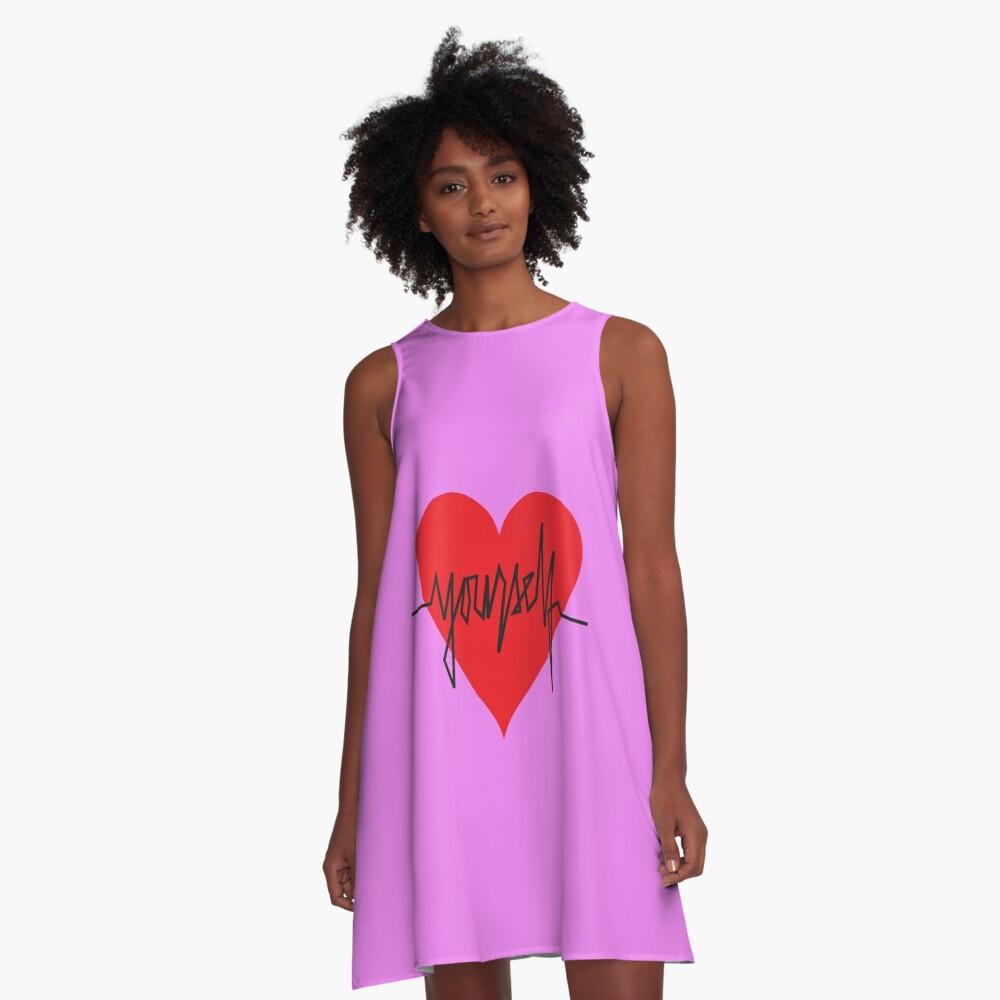 love yourself - zachary martin A-Line Dress