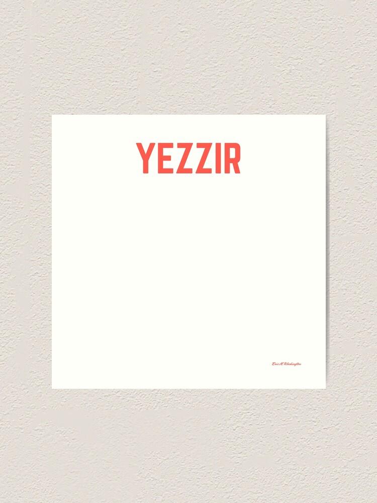 Alternate view of yezzir Art Print