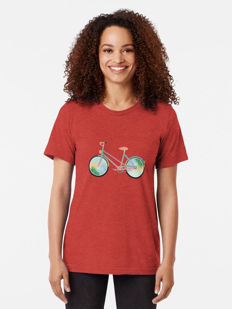 Alternate view of Pimp my bike Tri-blend T-Shirt