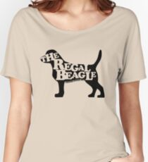 Three's Company - The Regal Beagle Women's Relaxed Fit T-Shirt