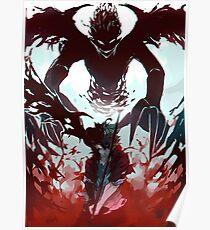 Demon antimagic antler Poster