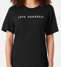 LOVE YOURSELF #1 Slim Fit T-Shirt