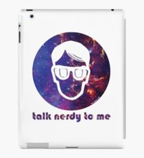 NERDY TALK ― for her iPad Case/Skin