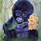 I wonder....if daffodiles tast good? by Heidi Mooney-Hill