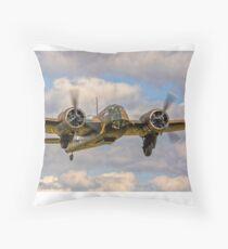 Bristol Blenheim IF L6739 G-BPIV getting its gear up Throw Pillow