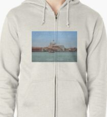 Chiesa del Santissimo Redentore, Venice, Italy Zipped Hoodie