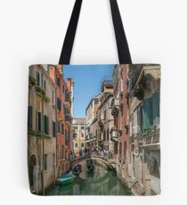 Canal Views of Venice Tote Bag