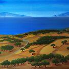 Summer time on island by Kostas Koutsoukanidis