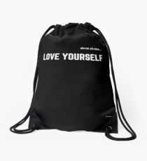 LOVE YOURSELF #2 Drawstring Bag