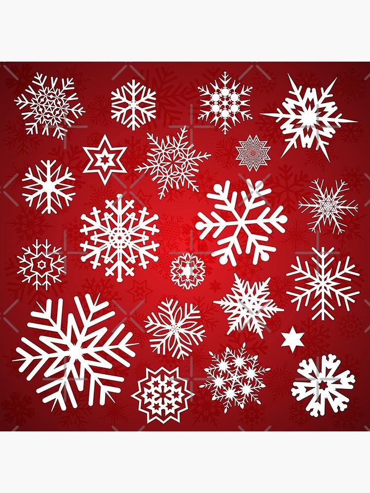 Christmas Snowflakes by LaPetiteBelette