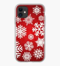 Christmas Snowflakes iPhone Case