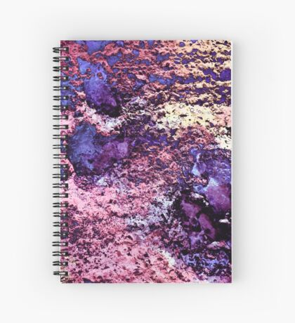 Paw Prints in Purple and Pink Spiral Notebook