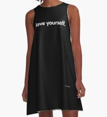 LOVE YOURSELF #4 A-Line Dress